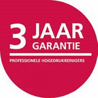 3 jaar garantie Nilfisk professionele hogedrukreinigers